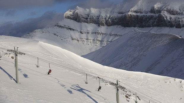 Lake Louise Ski Resort is set to open Thursday, which will make the earliest-ever opening. (File photo)