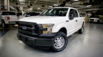 Ford is recalling more than 202,000 pickup trucks and SUVs in North America because front seat cushions can come loose and fail to properly hold people in a crash. (Ford Motor Company)