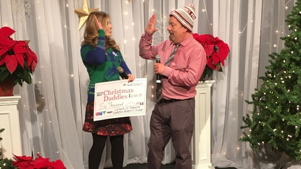 Last year, more than $446,000 was raised for the 54th annual Christmas Daddies Telethon on Saturday, Dec. 2, 2017.
