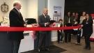 Orillia Mayor Steve Clarke attends ribbon-cutting ceremony for the new Sundial Lakeview Retirement Residence.