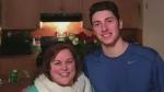 Hockey player says goodbye through sport