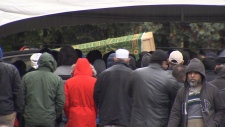Hala Albarhoum funeral
