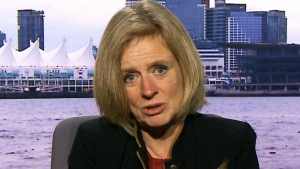 CTV QP: Notley on pipelines, pot legalization