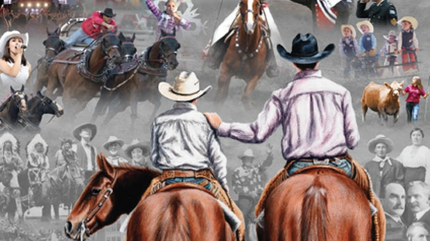 Calgary Stampede Unveils Printed And Animated Digital