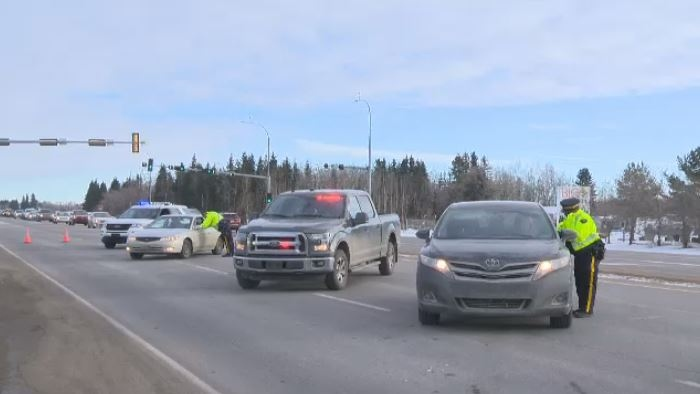 Alberta RCMP is conducting check stops during December to crack down on impaired driving.