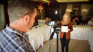 CTV National News: Training Syrian journalists