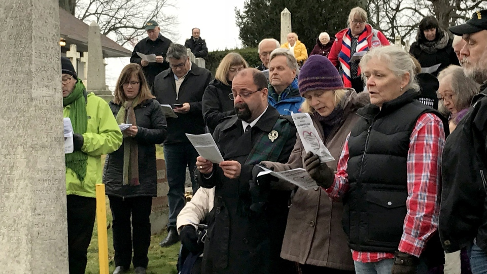 Memorial for orphans who died in Halifax Explosion