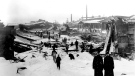 Another scene from the railway yards. Jan. 10, 1918 (State Library of Massachusetts)