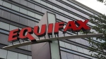 Signage at the corporate headquarters of Equifax Inc. in Atlanta on July 21, 2012. (Mike Stewart/AP/THE CANADIAN PRESS)