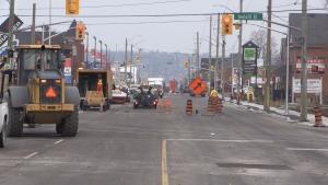 Essa Road construction
