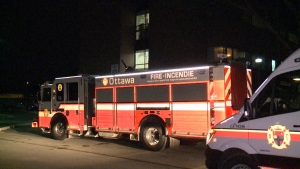 Fire at Queensway Carleton
