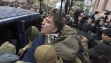 Mikheil Saakashvili detained in Kyiv, Ukraine