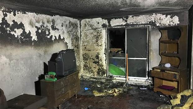 Dec. 5 apartment fire
