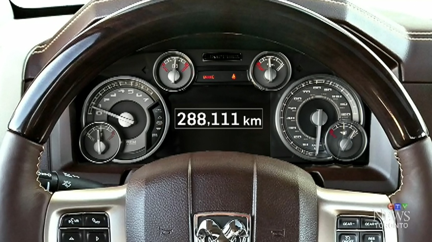 Buyer beware: Used truck's digital odometer 'rolled back' to remove