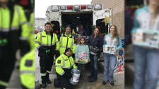 Timmins EMS staff hold annual toy drive