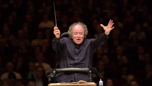 This May 19, 2013 file photo shows Metropolitan Opera Music Director James Levine leading the MET Orchestra in a concert at Carnegie Hall in New York. (AP Photo/Metropolitan Opera, Marty Sohl, file)