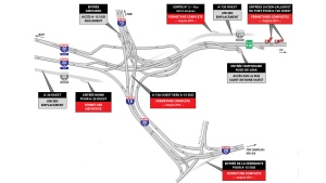 The Turcot Interchange gets an update for Dec. 11, 2017