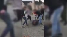 cowichan high school fight