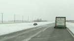 Snowfall, slippery roads keep emergency crews busy
