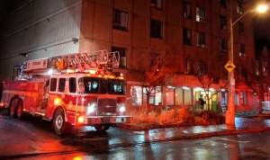 Fire at 379 Gilmour Street Ottawa