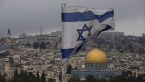 Jerusalem Old City seen from Mount of Olives