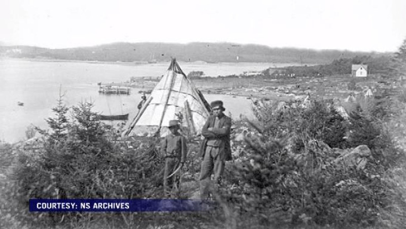 The Mi'kmaq had lived in the small community of Turtle Grove since the late 1700s when the Halifax Explosion occurred. (Nova Scotia Archives)