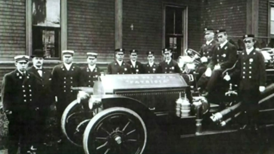 Nine firefighters died after rushing to the initial fire in Halifax on Dec. 6, 1917. (Halifax Firefighters Monument Committee)