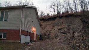 Paris landslide