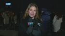 Sophie Gregoire-Trudeau at the Montreal Massacre vigil