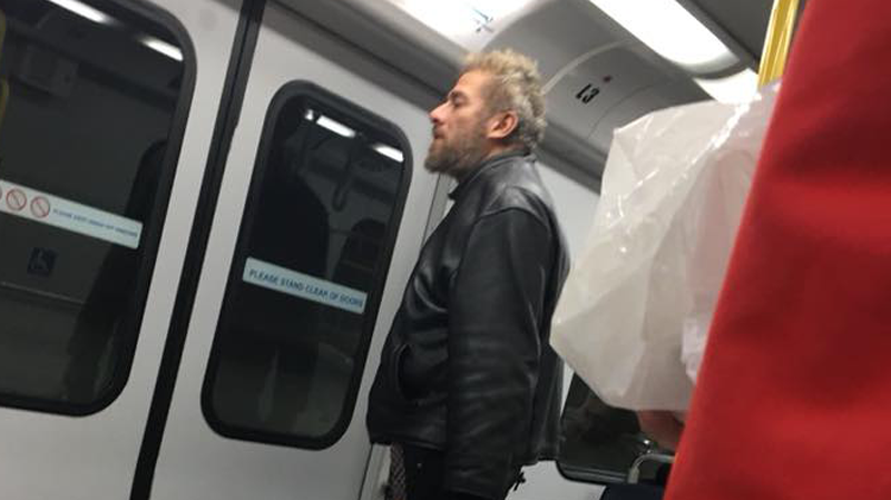 A 17-year-old girl took a picture of a suspect after she was allegedly attacked on SkyTrain on Dec. 4, 2017.