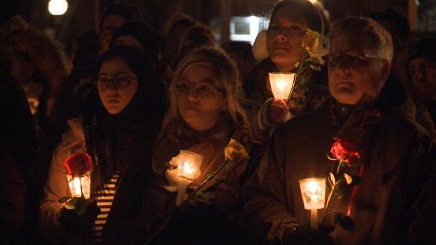vigil for victims of gender-based violence
