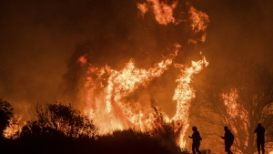 Wildfires in Ventura, California