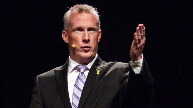 Prince Edward Island NDP Leader Mike Redmond