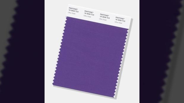 Pantone's 'Ultra Violet'