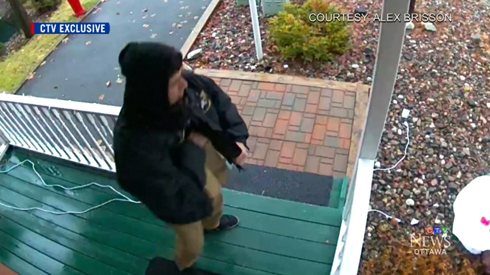 "A couple is warning the public after an alleged ""porch pirate"" stole a package from their doorstep."