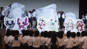 Tokyo 2020 Olympic Games mascots