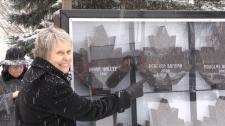 Dr. Roberta Bondar plaque at Walk of Fame