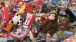 Thousands of toys for Toy Mountain