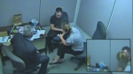 Chris Garnier interrogation video