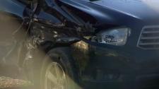 car damaged baby on board