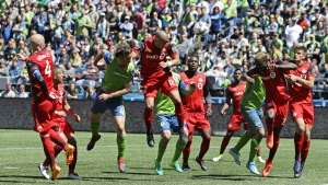 Toronto FC and Seattle Sounders