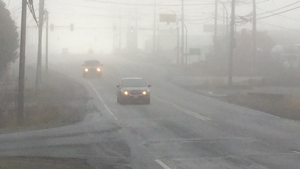fog blankets vancouver island affects air quality ctv news