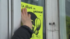 Regie du logement protest