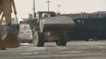 Municipal and provincial government crews have been scrambling in recent days to top up their supplies of road salt.