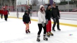 Grab your skates- the rink is open!