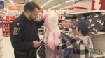 Sudbury Shop With A Cop pairs police with kids