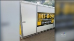 Mi-Box storage, Pat Foran