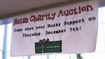 HHSS students help raise money for family in need