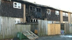 Family in hospital after jumping out window to escape fire