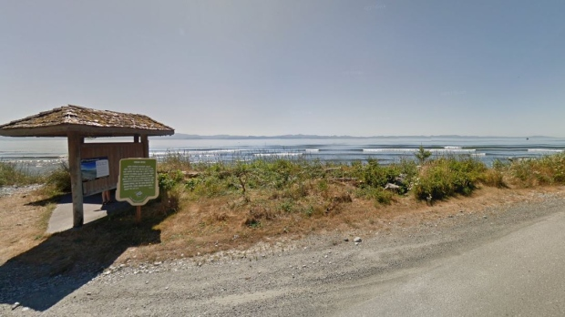 The shoreline in Jordan River is shown in this undated Google Maps image.